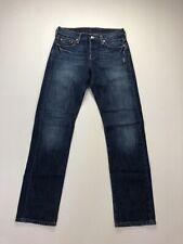 LEVI'S 501 Jeans - W24 L34 - Navy - Great Condition - Men's