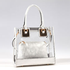 81471 2 in 1 Clear Tote