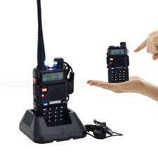 1x Baofeng UV-5R Walkie Talkie VHF/UHF 136-174/400-520MHz Mano FM Radio 5W