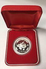"""Australien Lunar1 Snake """"Jahr des Schlange"""" 2001 PP 1Oz Silber  inkl.Etui top!!!"""