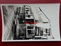 PHOTO  LONDON TRANSPORT TRAM 210/8 ROUTE 12 WANDSWORTH HIGH ST 14/9/50