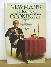 Newman's Own Cookbook recipes from Paul Newman's Kitchen 1985 HB/DJ *Signed*