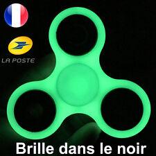 Fidget Hand Spinner Fluorescent Brille Dans Le Noir Vert Anti Stress de France++