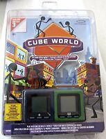 Cube World Radica Handheld Game Chief-Dash Blue & Green Serie 3 Model 16092 New