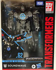 New Hasbro Transformers ROTF Studio Series Deluxe Class Soundwave Figure #62 For Sale
