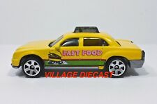"2009 Matchbox ""Taxi Workday Play Set"" Taxi Cab Yellow / Fast Food / Mint"