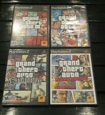 Grand Theft Auto Collection Bundle for Playstation 2, all tested and work great!