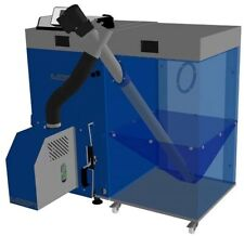 Pelletkessel Biopel 20 20KW Pelletheizung mit Pelletspeicher für 250kg Pellets