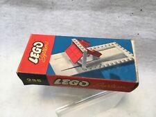 ULTRA RARE Lego Vintage Samsonite Garage Door with box