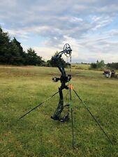 Bear Archery Kuma 30 Left Hand 60# Iron Bow…QAD Rest, Trophy Taker Single Pin