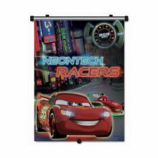 CAR SUN SHADE ROLLER WINDOW BLIND FOR KIDS DISNEY CARS NEONTECH RACERS NEW