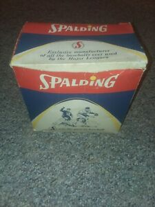 Vintage 1960s Spalding Johnny Callison Baseball Glove Box