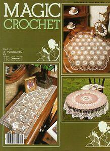 Magic Crochet Magazine #25 Doilies Home Decor