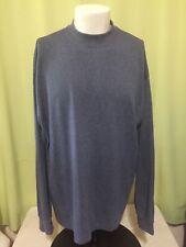 Basic Editions Men's Blue Long Sleeve Shirt Size XL