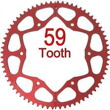 59T Tooth #35 Chain Split Sprocket Two 2 Piece Gear Drift Trike Go Kart Racing
