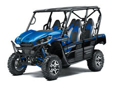 NEW 2018 KAWASAKI TERYX 4 LE 800 EPS CANDY BLUE BLOWOUT SALE! 3 YEAR WARRANTY