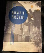 1956-57 Souvenir Program, RPI Fieldhouse, Troy, NY, Boston Pops Feidler, Hockey