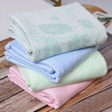 cool thin blanket air condiitioning bamboo fiber blankets throws soft water lily