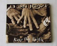 BON JOVI Keep the faith EUROPE Mini lp CD + LIVE Bonus tks MERCURY (2010) MINT