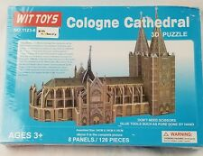 wit toys cologne cathedral 3D puzzle 126 pieces new sealed no.1123-6