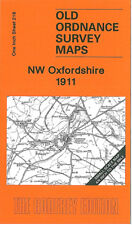 OLD ORDNANCE SURVEY MAP NW OXFORDSHIRE CHIPPING NORTON HOOK NORTON AYNHO 1911