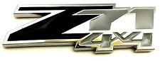 x1 New Black & Chrome Z71 4x4 Emblem / Badge / Decal Replaces OEM 23172678