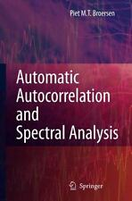 Automatic Autocorrelation and Spectral Analysis by Piet M. T. Broersen (2006,...