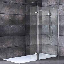 1850 x 300 mm Rotating Flipper Return Shower Panel For Existing  8 / 10 mm Glass