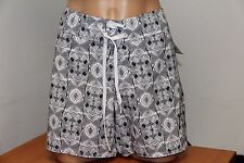 NWT Volcom Swimsuit Cover up Shorts Size 13 White
