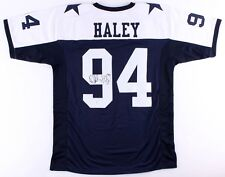 Charles Haley Signed Dallas Cowboys Jersey (JSA COA) 5x Super Bowl Champion
