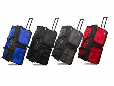 Hipack 28-Inch Heavy Duty Rolling Duffle Bag