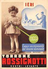 5660) SESTRI LEVANTE (GENOVA) TORRONE ROSSIGNOTTI. VG NEL 1938.