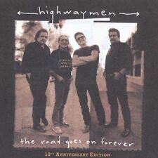 The Road Goes on Forever [10th Anniversary Edition] by The Highwaymen CD PROMO