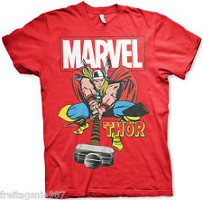 MARVEL THOR  T-Shirt  camiseta cotton officially licensed