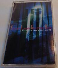 ELTON JOHN'S GREATEST HITS Tape Cassette VOLUME III 1979-1987 Mca Canada M524153