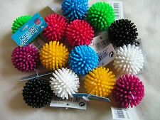 10 x small spikey cat ball toys 4125