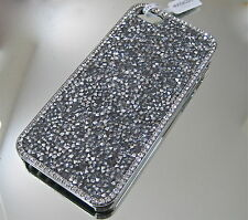 Crystal Comet Argent Light Kalifano Iphone 5 Cell Phone Case Czech Rhinestones