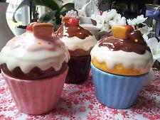 Muffindosen Muffin Dosen Cupcake Cupcakedosen Rosa Box Törtchen Keramik Schoko