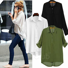Chiffon 3/4 Sleeve Unbranded Tops & Shirts for Women