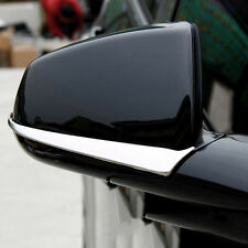 for Cadillac SRX 2010-2015 2pc Stainless Auto Side mirror Rearview Cover Trim