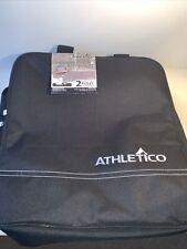 Athletico Black Ski Snowboard Boot Bag 15.25 x 16 x 10