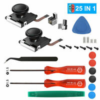 25in1 Replacement 3D Analog Joystick+Tool for Nintendo Switch Joy-Con Controller