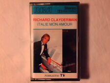 RICHARD CLAYDERMAN Italie mon amour mc cassette k7 GINO PAOLICOME NUOVA LIKE NEW