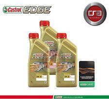 3 LT OLIO MOTORE CASTROL EDGE 5W30 FST  TAGLIANDO LONGLIFE (LL) VW 504.00 507.00