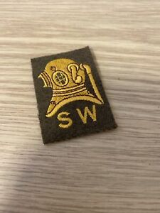 British Army Shallow Water Diver No2 Dress Qualification Badge