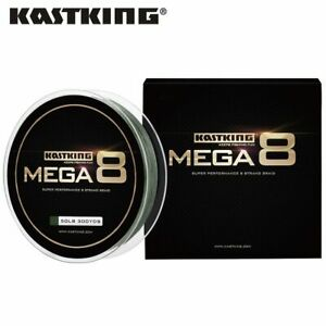 Fishing Line Authentic KastKing Mega8 300 M 8 Strands Weaves PE Braided Fishing