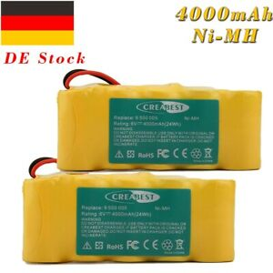 Akku 6V 4000mAh für Bosch K6 K8 Roll-Lift K10/K12/Somfy Easy-Lift D14/K10/K12/K8