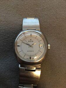 Vintage men's Elgin automatic watch
