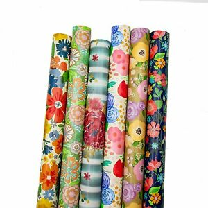 B-THERE Floral Gift Wrap Wrapping Paper for All Occasions, Women, Birthday...