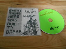 CD Indie The Pan O Ply Academy - Everything Here Was (15 Song) SECRETLY CANADIAN
